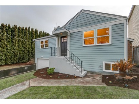 Sold! Remodeled West Seattle Charmer